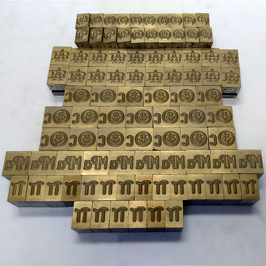 STAMPS FOR MARKING MACHINES