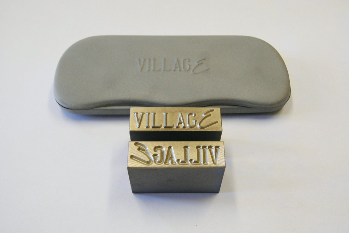 Metal stamps for press